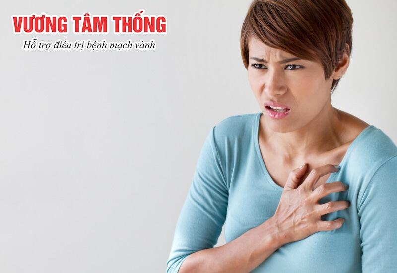 Đau thắt ngực – dấu hiệu điển hình của thiếu máu cơ tim